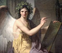 One of the many artistic muses at The Cleveland Museum of Art. By Charles Meynier (Paris, 1763 – 1832), Clio, Muse of History (1798). Image Courtesy of the Cleveland Museum of Art.