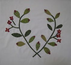 Beyond The Cherry Tree: Blocks 22 and 23 Tree Quilt, Cherry Tree, Applique Quilts, Needle And Thread, 21st, Textiles, Bows, Trees, Quilting