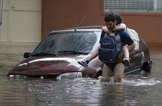 #Inondations, fort pluie, a Buenos Aires, Argentine