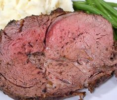 Garlic Crusted PRIME RIB!