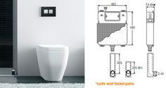 Wet Design - Valsir Design - Elegance and design in the bathroom. In-wall toilet cisterns and designer push plates.