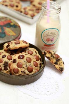 Dah lama ita mencari resepi cookies ni. Biasanya ita akan beli di Subway. Sekarang ni dah senang sikit sebab Subway boleh di dapati...