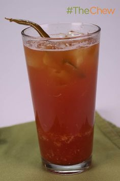 Spicy Pickled Bloody Mary by Clinton Kelly! #TheChew