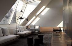 Luxury Loft Apartment by Bernd Gruber bernd gruber design stylish loft 7 Luxury Loft, Luxury Homes, Bernd Gruber, Appartement Design, Interior Minimalista, Loft Interiors, Apartment Interior Design, Contemporary Interior Design, Minimalist Interior