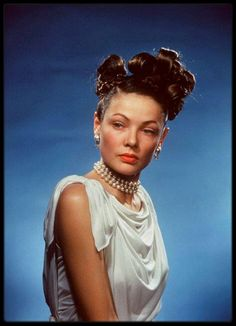 vintage everyday: Hollywood in Kodachrome – Stunning Color Portraits of 50 Beautiful Classic Stars from the Hollywood's Golden Age