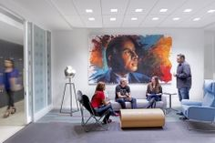 Breakout Area - Zimmerman Advertising - Fort Lauderdale Offices #Office #Design