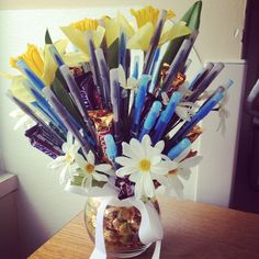 Pen bouquet for nursing staff