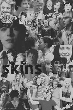 Skins UK collage, First Generation is The Best Movies Showing, Movies And Tv Shows, Series Movies, Tv Series, Skins Generation 1, Cassie Skins, Skin Aesthetics, Skins Uk, Badass Aesthetic