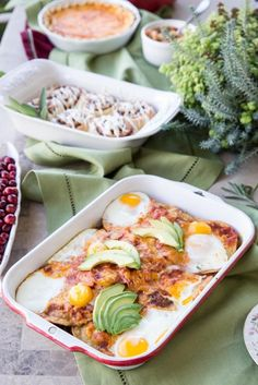 5. Huevos Rancheros Casserole #healthy #casserole #recipes http://greatist.com/eat/healthy-casserole-recipes