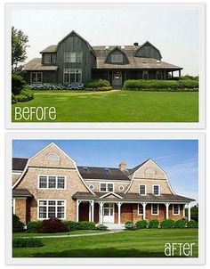 Odi Et Amo Before After Hamptons Home Hampton Properties Rehab House