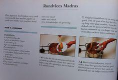Hoofdgerecht  - recept rundvlees madras
