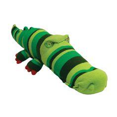 DIY Sock Crocodile