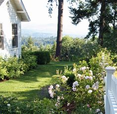 {A Country Farmhouse: Building Our Fence}  what a view!  the pacific northwest is calling my name.