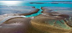Montgomery Reef from the air is simply a sight to behold!