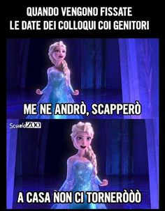 Percheeeeee lo soooo dal due e mezzo no scapperooooo Funny Test, Wtf Funny, Funny Cute, Funny Photos, Funny Images, Italian Memes, Savage Quotes, Son Luna, Cartoon Pics