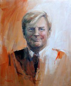 Koning Willem-Alexander - Mieke Corvers, 2013