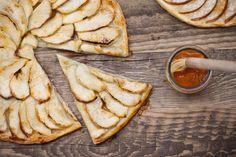 Rustikální jablečný, hruškový koláč | KITCHENETTE