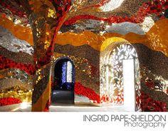 Niki De Saint Phalle in the herrenhaeuser garten