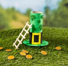 It's a trap! Get ready for St. Patrick's Day and create your own Leprechaun Trap-who knows, you may even be lucky and capture one!
