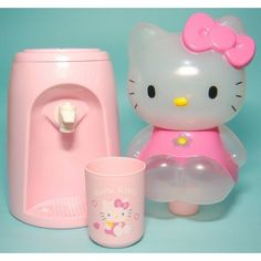獨家販售 健康發發飲水機 Hello Kitty 飲水機/八杯水/飲水座/ 附水杯 粉紅款 - 露天拍賣--簡單、好玩、免費、安全 ❤ liked on Polyvore featuring hello kitty