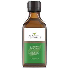 Au Natural Organics Tea Tree Oil 3.4 Oz | 100 Ml ** Click image to review more details.