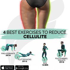 Body Weight Leg Workout, Full Body Gym Workout, Gym Workout Videos, Gym Workout For Beginners, Fitness Workout For Women, Weight Loss Workout Plan, Easy Workouts, Buttocks Workout, Cellulite Exercises