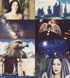 "THE FOUNDERS OF HOGWARTS - Rowena Ravenclaw: ""I'll teach those whoseintelligence is surest."""