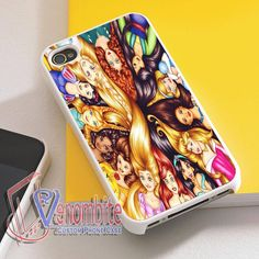 Disney Princess Collage Art Phone Case For iPhone 4/4s Cases, iPhone 5 Cases, iPhone 5S/5C Cases, iPhone 6 cases & Samsung Galaxy S2/S3/S4/S5 Cases