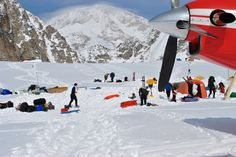 K2 Base Camp K2 Aviation Climbing Services to Kahiltna Base Camp on Mt. McKinley