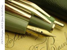1969 CENTROPEN 4064 PASTEL GREEN MINT UNUSED UNINKED RARE VINTAGE PEN SET & CASE in Collectables, Pens & Writing Equipment, Pens   eBay