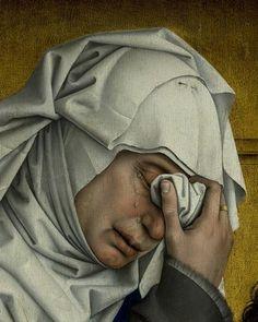 La descente de Croix (dét), Rogier van der Weyden