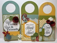 Wine Bottle Tags by annk516 - Cards and Paper Crafts at Splitcoaststampers