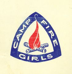Love the Campfire Girls logo. I never made it past BlueBird because we moved.