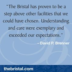 Thank you for the kind words about The Bristal. We hope to continue exceeding your expectations! Kind Words, Sweet Sayings, Nice Words