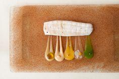 Sole, Olive Oil and Mediterranean Flavors: Fennel, Bergamot, Orange, Peanuts, Green Olives, and Orange Flower Blossom by Chef Joan Roca of El Celler de Can Roca - Girona, Spain