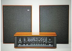 Beomaster 900 Stereo & Beovox 1600 Speakers by Bang & Olufsen, 1964