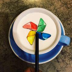 韩国 C.Through Cafe 你老公宋仲基掉进咖啡里了!http://tummyfriend.com/song-joong-ki-korea-cthrough-cafe/ #songjoongki #c.through #cafe #korea #creative #latte #tummyfriend