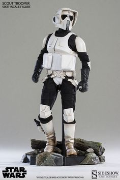 Sideshow 100103 1/6 Star Wars Scout Trooper Action Figure Model Toy | eBay