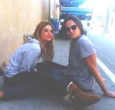 Ashley Benson and Tyler Blackburn. Pretty Little Liars.