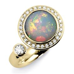 Andrew Geoghegan Satellite Opal Cocktail Ring £3150