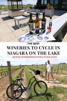 5 Wineries To Cycle And Sip In Niagara On The Lake In 2020 With Images Niagara On The Lake Ontario Road Trip Ontario Travel