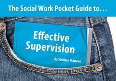 The Social Work Pocket Guide to...: Effective Supervision: Amazon.co.uk: Siobhan Maclean: Books