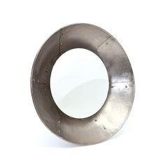 Iron Up Wall Mirror