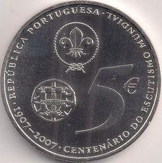 Wertseite: Münze-Europa-Südeuropa-Portugal-Euro-5.00-2007-Baden-Powell