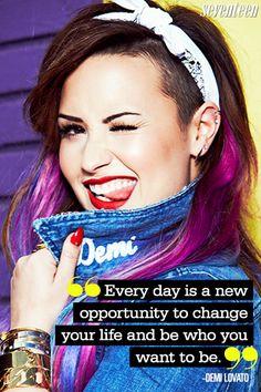August 2014 Seventeen Cover Star Demi Lovato