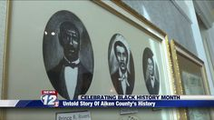 We're nearing the end of black history month, but some people in Aiken County are trying to make sure three black men are honored past February. Britney Craig takes a look at a piece of history that many are trying to keep from being forgotten.