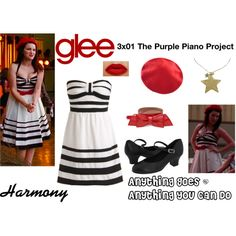 """""""Harmony (Glee) : Anything Goes / Anything You Can Do"""" by aure26 on Polyvore"""