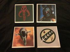 Star Wars Boba Fett Coaster Set
