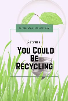 I love recycling. Or maybe it's more accurate to say that I feel extreme guilt if I throw something in the trash not knowing if I could have recycled it or not. So, I'm always looking online to see whether or not an item can be recycled. Like all industries, recycling is constantly evolving; items …