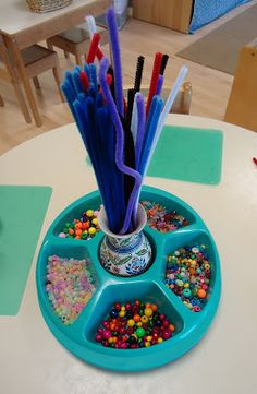 To the Lesson!: Pipe Cleaner Sculptures